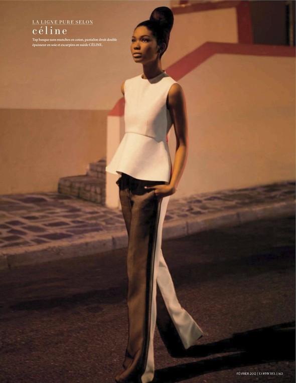 Съёмка: Шанель Иман для L'Officiel. Изображение № 21.