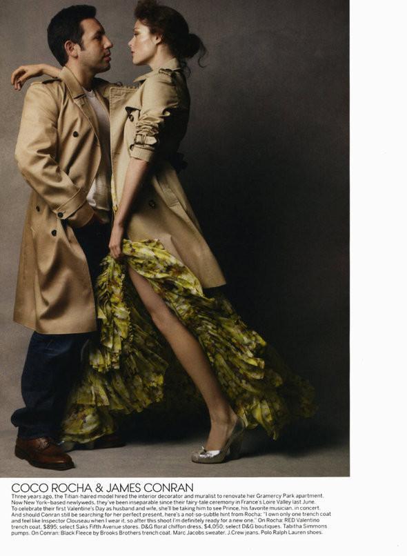 Изображение 94. Съемки: Harper's Bazaar, Industrie, Vogue и другие.. Изображение № 116.