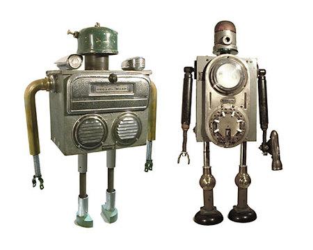 Роботы-скульптуры Gordon Bennett. Изображение № 4.