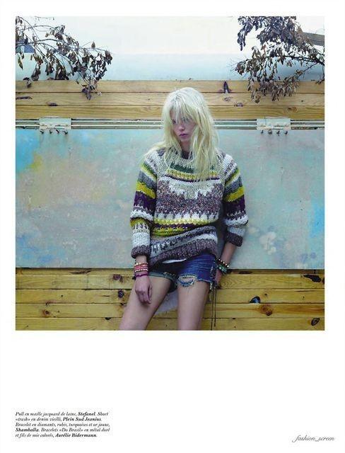 Съёмка: Саша Пивоварова и Наташа Поли для французского Vogue. Изображение № 14.