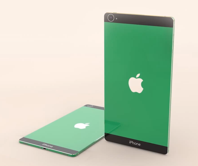 Концепт iPhone с дисплеем 4K. Изображение № 1.