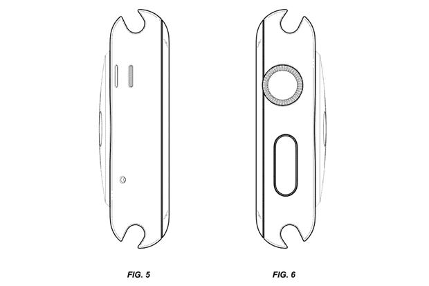 Apple запатентовала внешний вид Watch. Изображение № 5.
