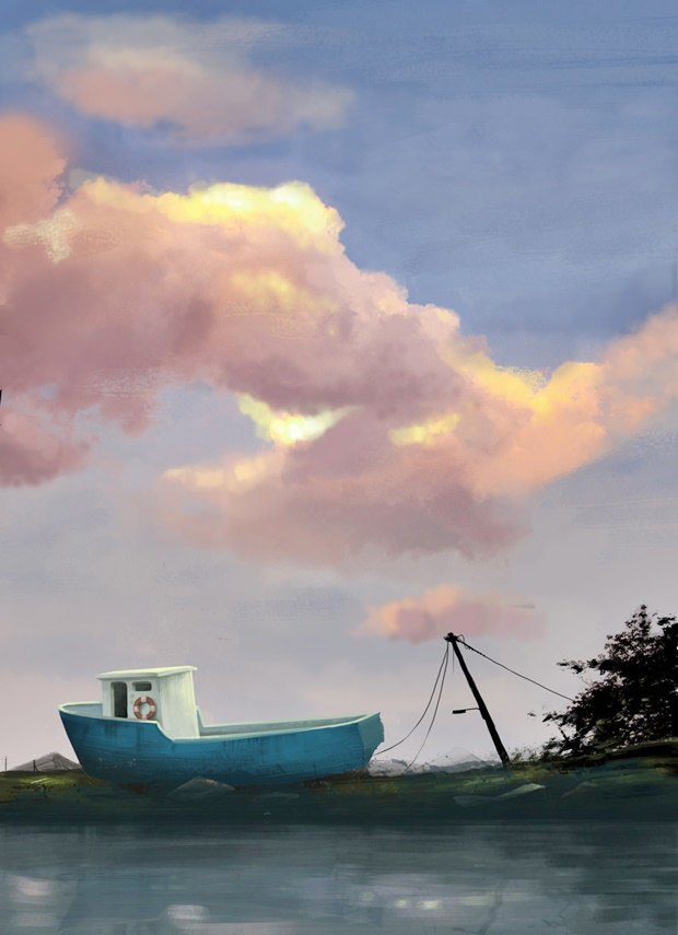Анимация дня: японец, морской дух и груз прошлого. Изображение № 4.