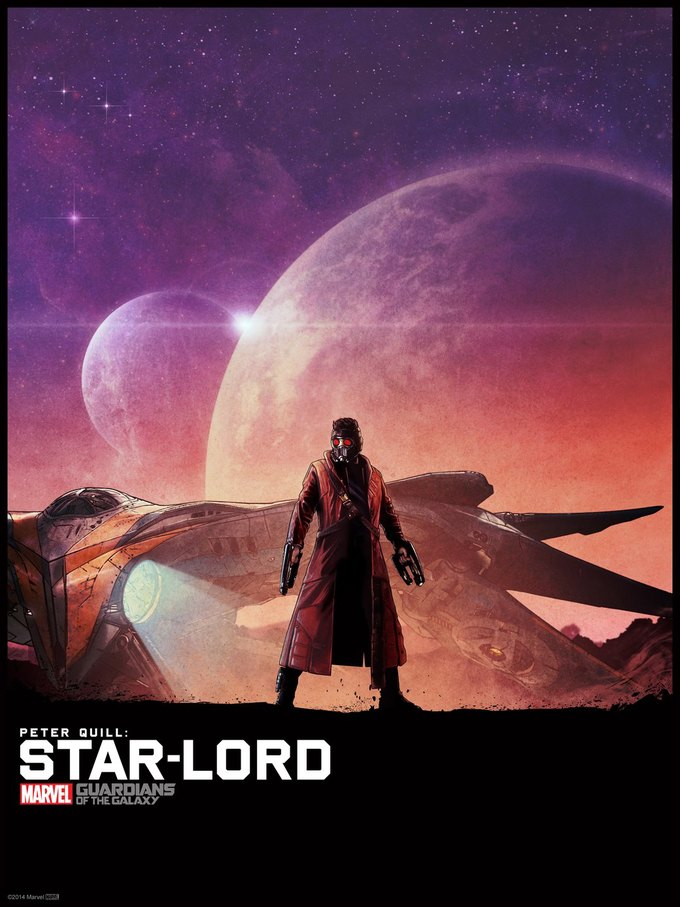 Опубликованы 44 фанатских постера к «Стражам Галактики». Изображение № 41.