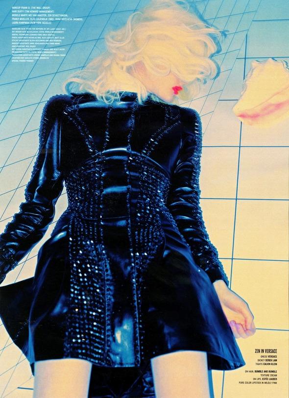 Стоп-кадр: Новые съемки Love, Russh, Vogue и V. Изображение № 85.