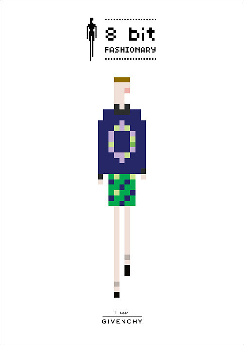 8 bit Fashionary / 8 Модных бит. Изображение № 4.