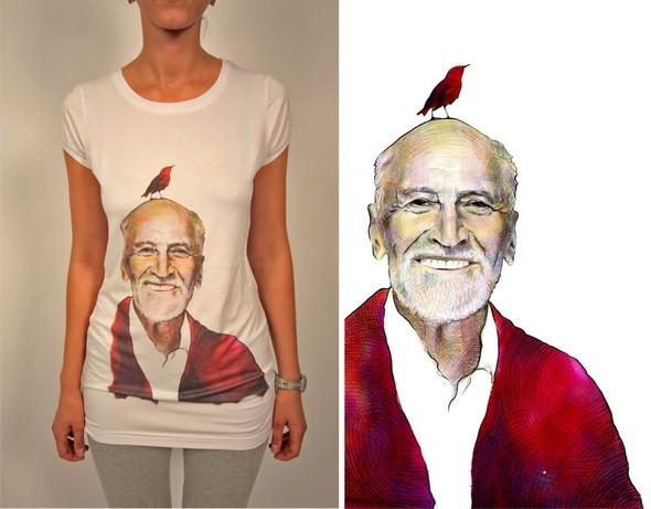 Дизайнерские футболки отT-store. Изображение № 7.