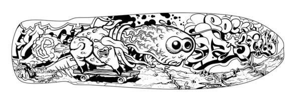 К доске: 10 художников-скейтбордистов. Изображение №87.