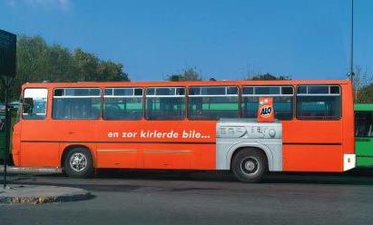 Необычная автобусная реклама. Изображение № 18.