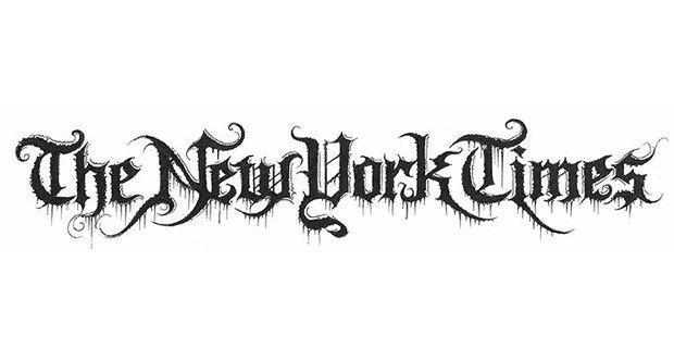 Лого известных брендов переделали в стиле блэк-метал. Изображение № 3.