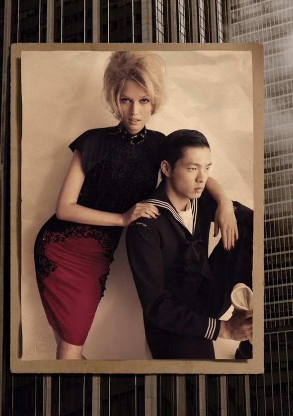 Съемки: Numero, Vogue, W и другие. Изображение №58.