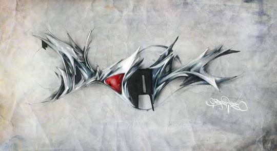 Интервью с граффити райтерами: Morik1. Изображение № 23.