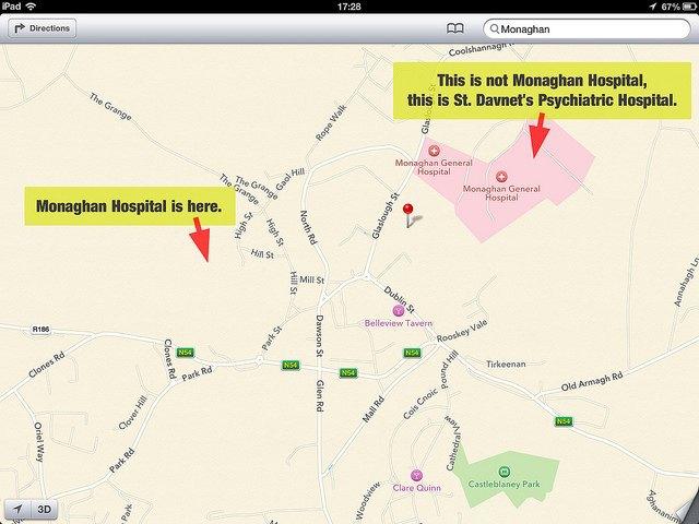 Apple Maps обогнали Google Maps попопулярности на iOS . Изображение № 1.