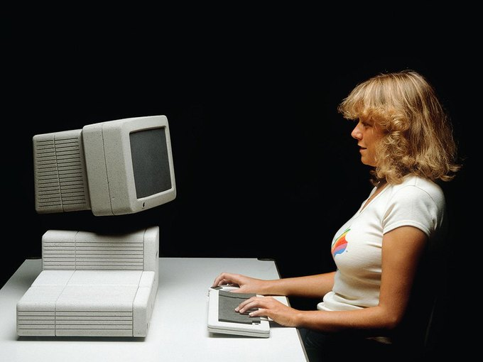 Опубликованы новые концепты футуристических устройств Apple 1982 года . Изображение № 3.