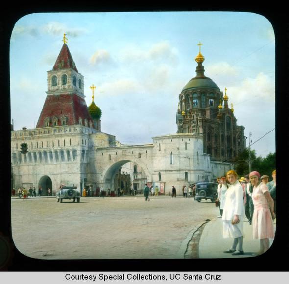 Изображение 3. Москва в цвете 1920-30х годов.. Изображение № 1.