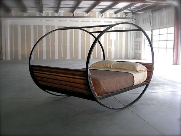 Кровать-качалка. Изображение № 5.