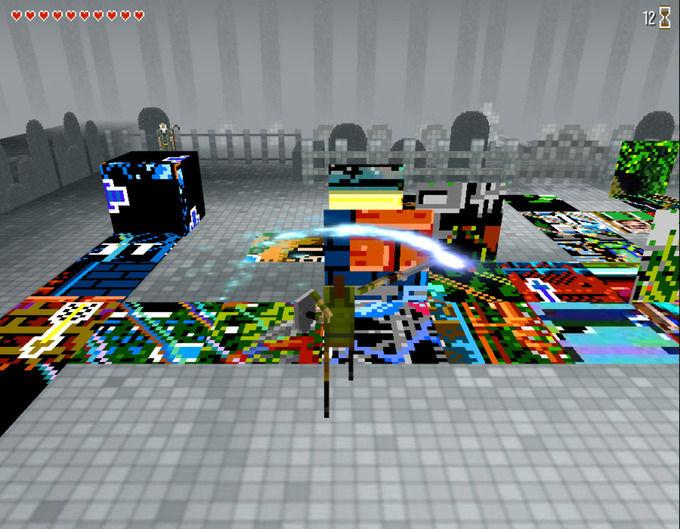 Скриллекс представил 3D-квест в духе Legend Of Zelda. Изображение №5.