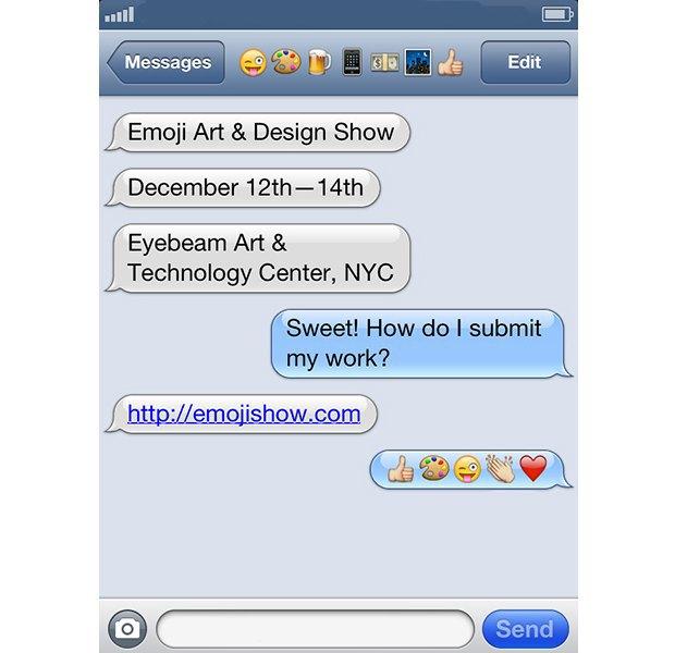 В Нью-Йорке пройдёт первая выставка Emoji. Изображение № 1.