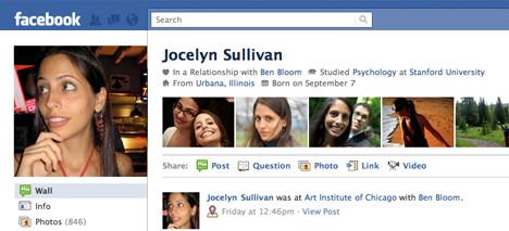 Новый face на Facebook. Изображение № 1.