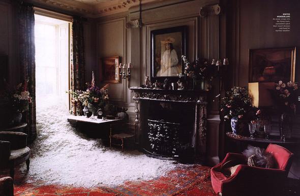 Архивная съёмка: Тим Уокер для Harper's Bazaar, 2000. Изображение № 10.
