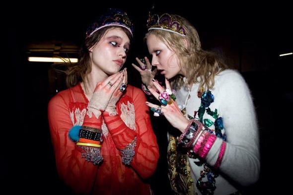 Бэкстейдж Лондонской недели моды. Изображение № 23.