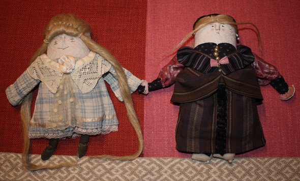Куклы отМарины Беспаловой. Изображение № 17.