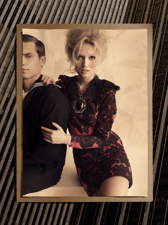Съемки: Numero, Vogue, W и другие. Изображение №53.