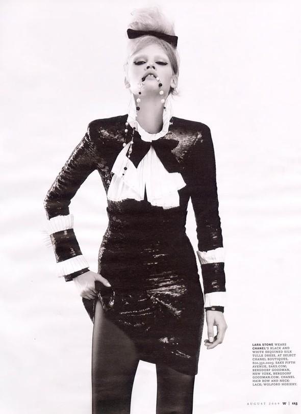Lara Stone WAugust 2009. Изображение № 6.