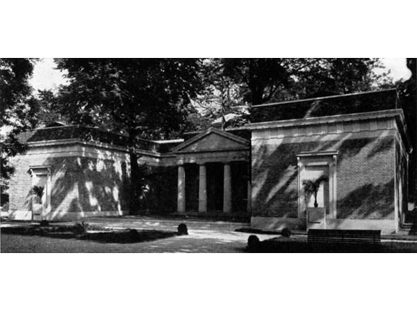 Американский павильон, архитекторы Уильям Адамс Делано и Честер Холмс Олдрич, 1930г.. Изображение № 8.