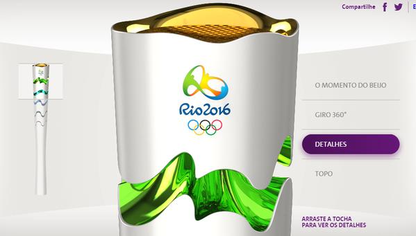 Бразилия показала дизайн факела для Олимпиады 2016 года. Изображение № 2.