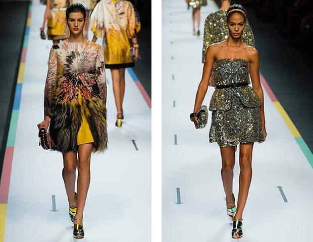 MFW SS 13: Показы Dolce & Gabbana, Fendi, Jil Sander, Marni и Versace. Изображение №37.