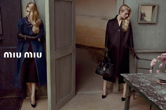 Max Mara, Prada и другие марки выпустили новые кампании. Изображение № 46.