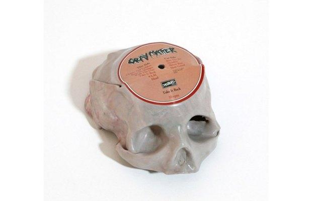 Музыкант Тед Ридерер превратил винилы в черепа. Изображение № 2.