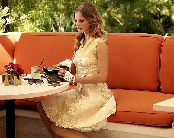 Лукбук Louis Vuitton Cruise 2011. Изображение № 11.