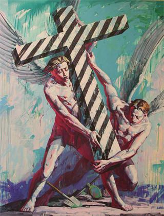 Только потому что крест-часть вторая. Изображение № 62.