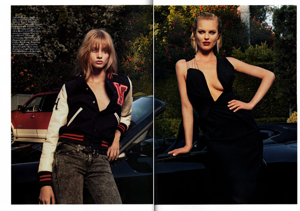 30 ans versus 17 ans. Vogue France. Изображение № 9.