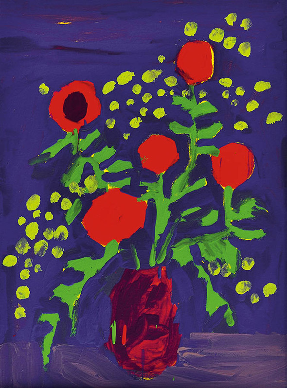 «NOVRUZ -новый день». Выставка художника Марьям Алакбарли в ММСИ. Изображение № 4.