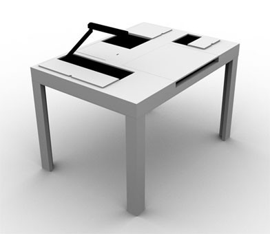 «Стол – трансформер». Изображение № 4.