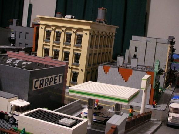 Изображение 17. Улицы Нью-Йорка из конструктора LEGO.. Изображение № 17.