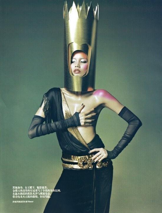 Magical illusion (China Harper's Bazaar, November 2008). Изображение № 3.