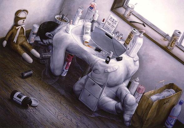 Творчество японского сюрреалиста Tetsuya Ishida. Изображение № 3.