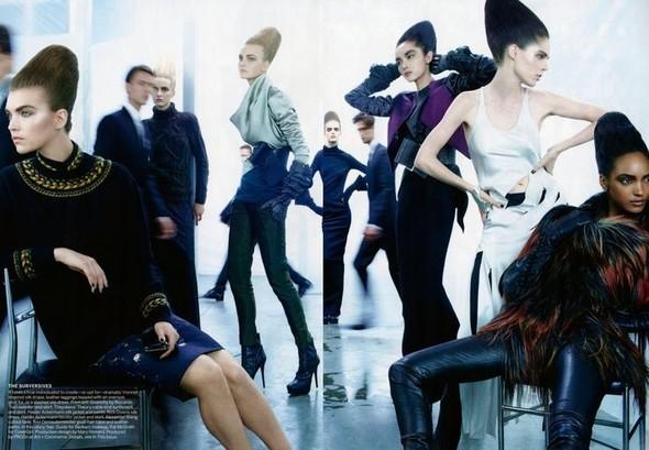 Съёмка: Стивен Майзел для Vogue. Изображение № 5.