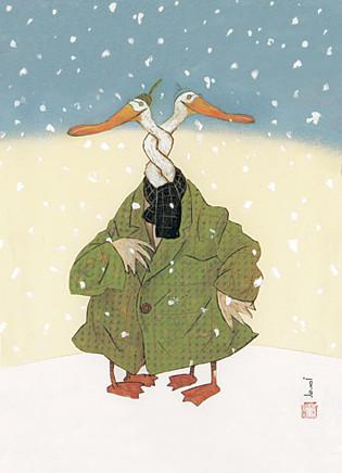 Милые открытки Вольфа Эрлбруха. Изображение № 7.