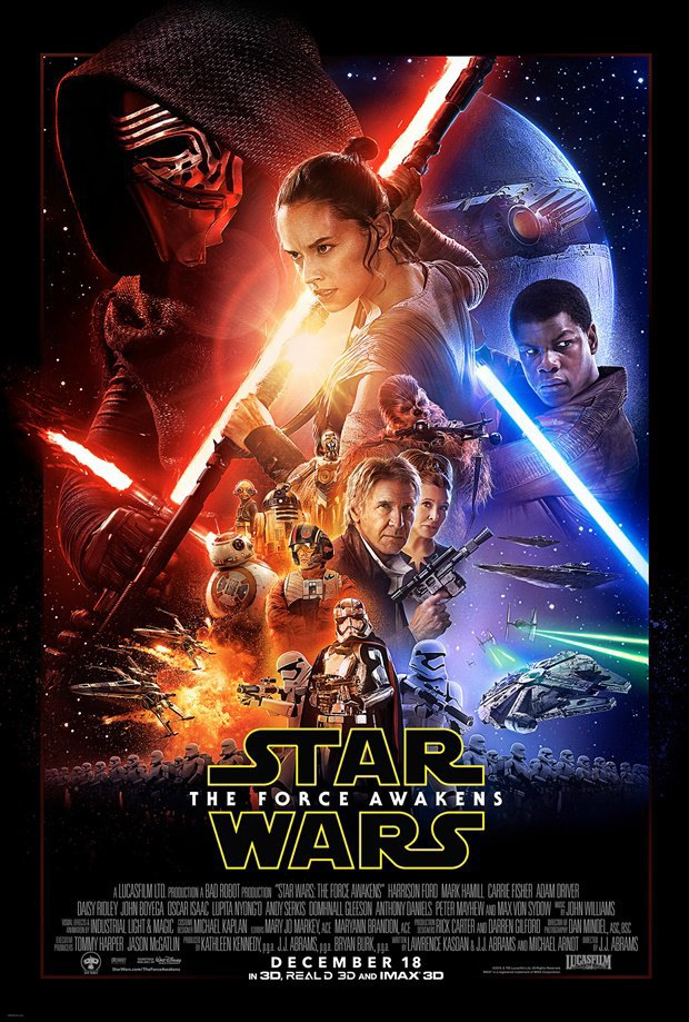 У «Звёздных войн VII» появился официальный постер. Изображение № 1.