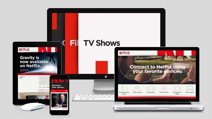 Студия показала новый брендинг Netflix . Изображение № 2.