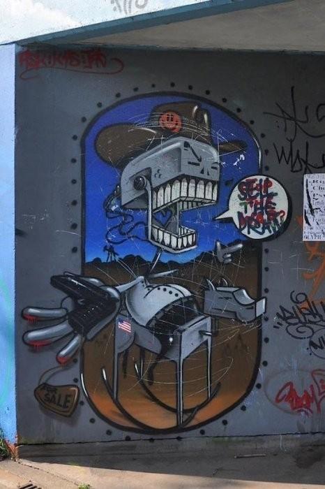 Изображение 16. Бристоль. Художественное граффити.. Изображение № 18.