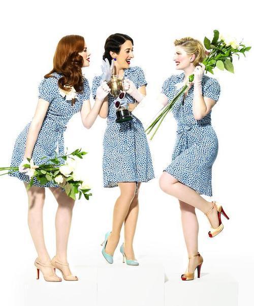 ThePuppini Sisters -легко исвежо. Изображение № 1.