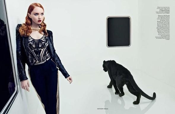 Съёмка: Лили Коул для российского Vogue. Изображение № 7.