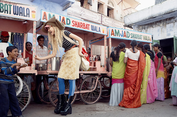 Fashion travels the world.India. Изображение № 3.
