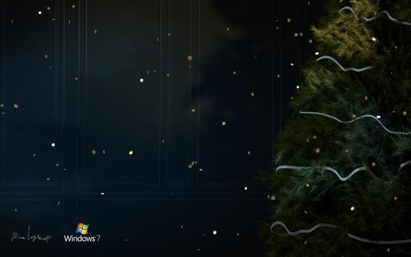 Новогодние обои Microsoft от Димы Логинова. Изображение № 3.